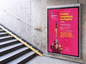 Colston Hall classical season billboard.