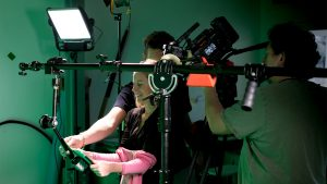 Directing green screen creative film