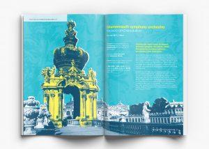 Colston Hall Classical Season brochure design