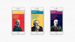 Colston Hall classical season, responsive web design.