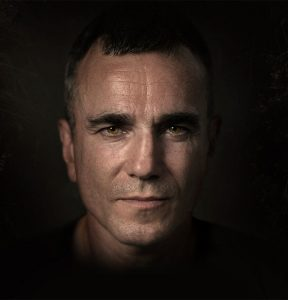 Portrait of Daniel Day-Lewis