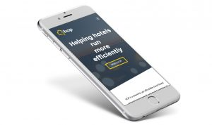HOP responsive website design iPhone